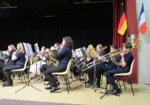Junge Musiker des JOMM während des Festaktes in Selles