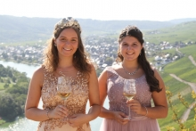 Mosella Sarah und Weinprinzessin Saskia (2019)