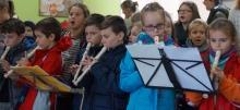 Blockflötengruppe spielt im Seniorenheim (Dez. 2017, Bildquelle: GFA Seniorenheim St. Josef, Kröv)