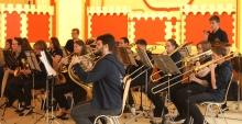 Jugendorchester der Mittelmosel beim Auftritt in der Kröver Mittelmoselhalle (2017)